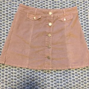 Corduroy skirt from Urban Outfitters